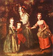 Sir Joshua Reynolds The Children of Edward Hollen Cruttenden oil painting